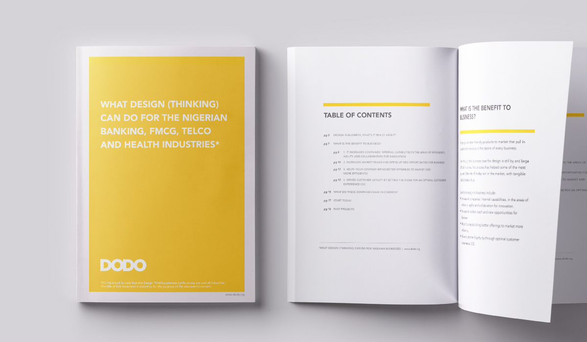 Free Ebook – What Design can do for Nigerian Corporations