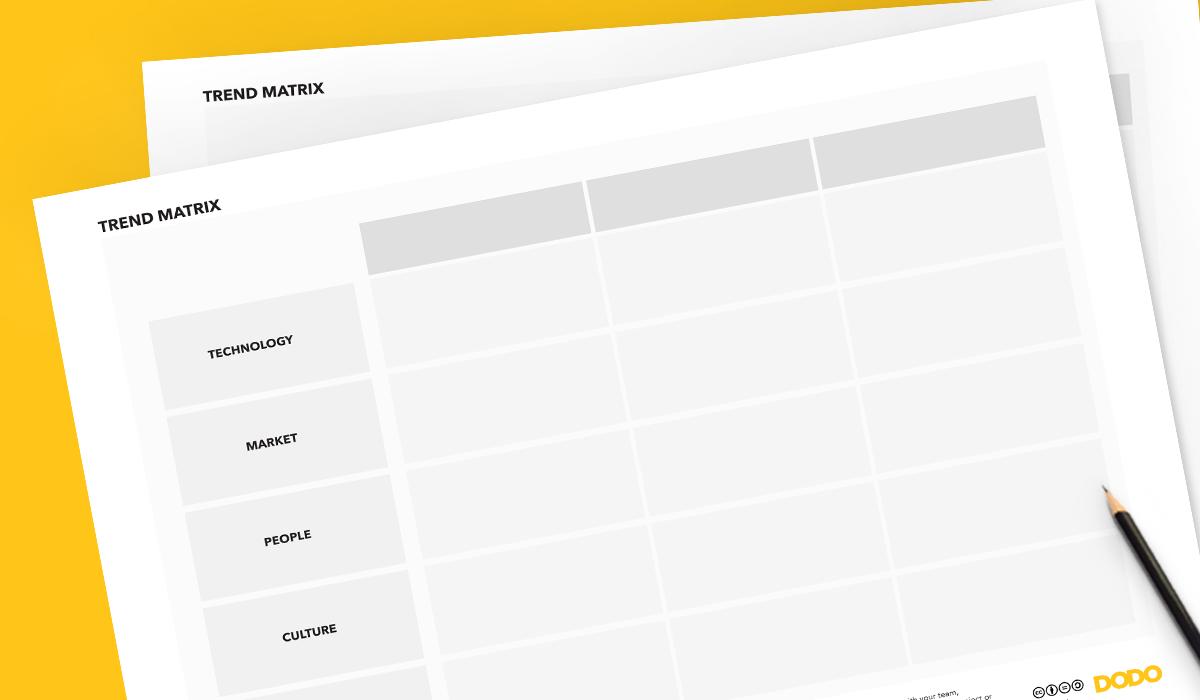 Trend matrix tool, free tools