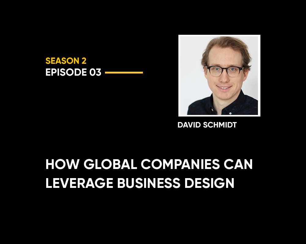 Podcast with David Schmidt Design and Innovation Podcast